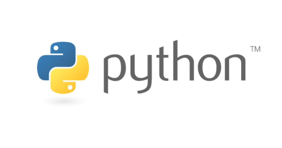 Python programming language logo