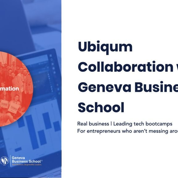 Ubiqum Collaboration with Geneva Business School featured