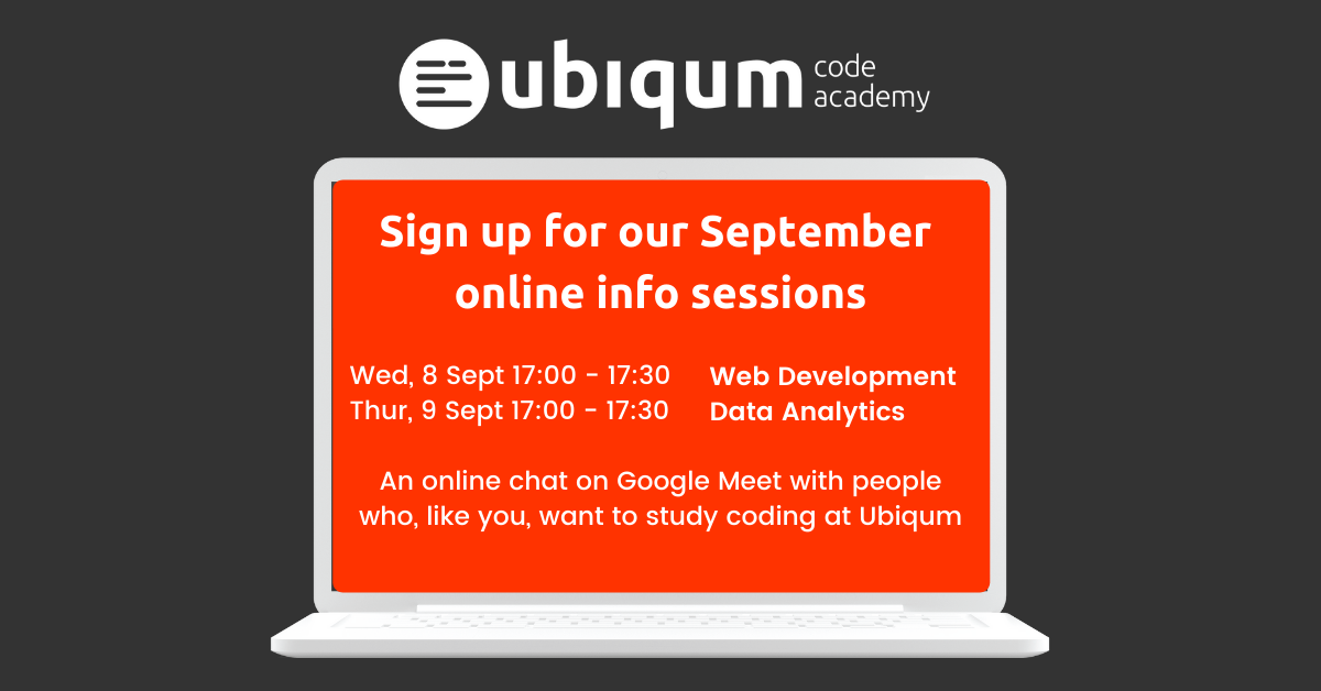 September Online Sessions Featured