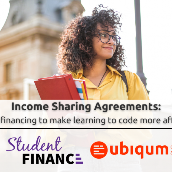 Ubiqum Income Share Agreements: Don't pay for your bootcamp until you get your new job
